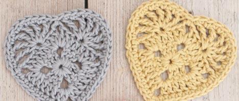 Crochet - A Granny Heart Pattern