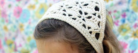 Crochet - Headscarf/Kerchief