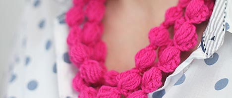 Crochet: Puff Chains