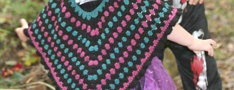 Crochet - Granny Stripe Poncho