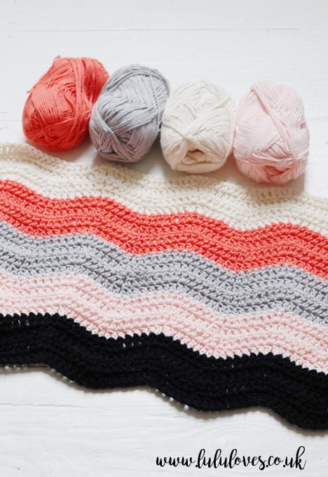 Lululoves Crochet Chevron Jumper