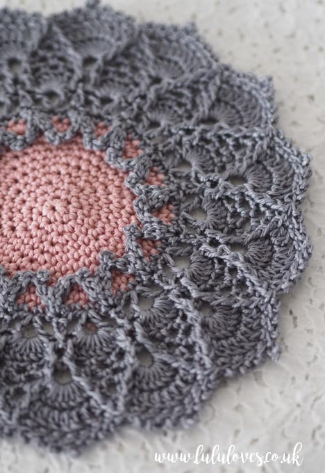 Lululoves Crochet: Sunmote Doily