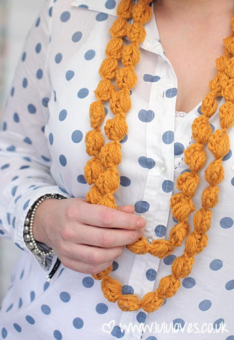Lululoves: Crochet Puff Chains