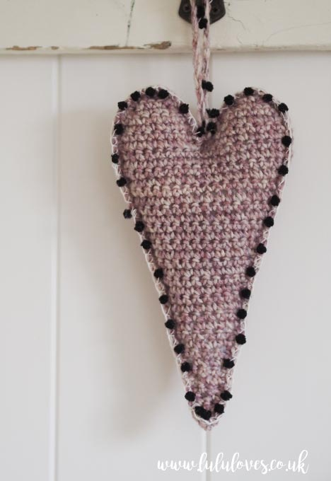 Lululoves: Crochet Skinny Hearts Pattern
