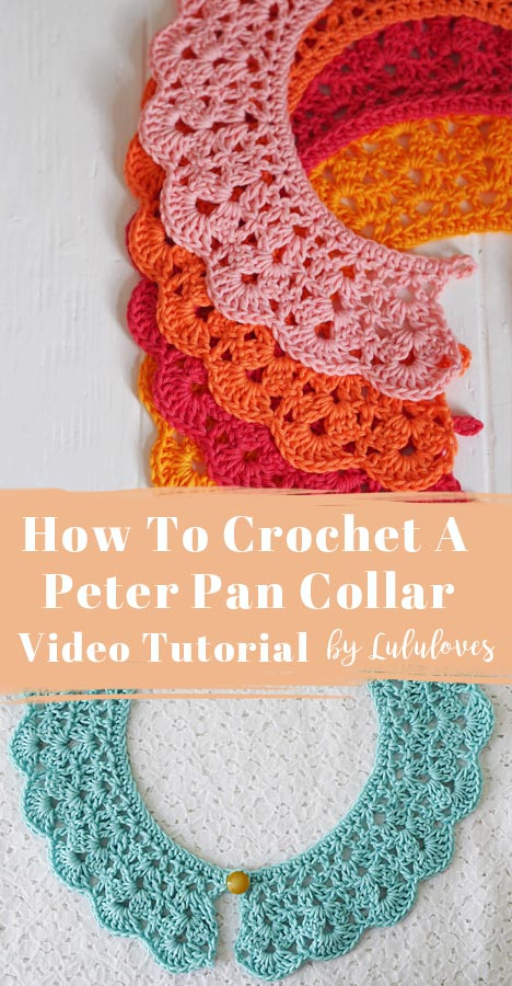 Lululoves | Video Tutorial How to Crochet a Collar