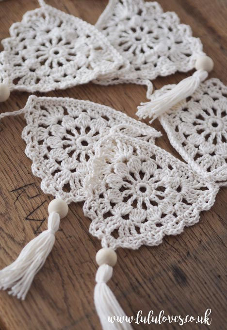 Crochet Boho Bunting | Lululoves Blog