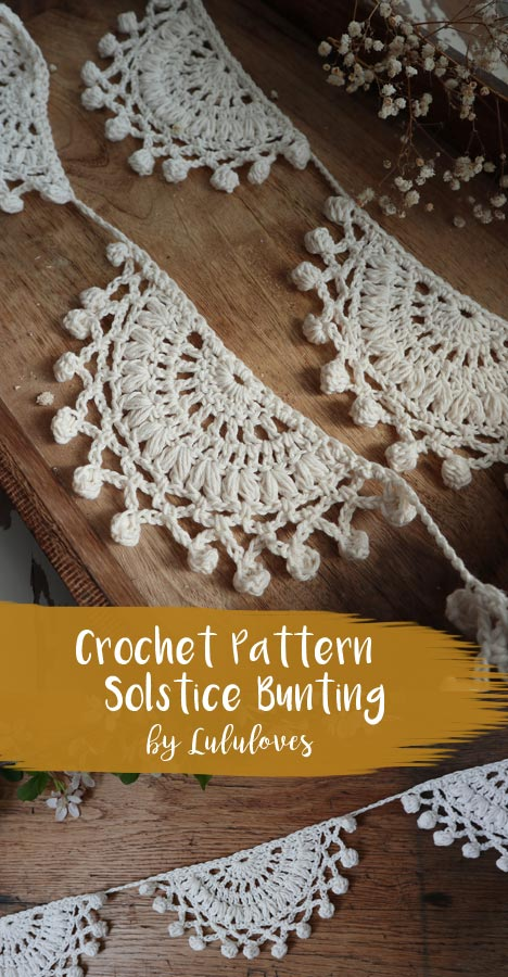 Crochet Solstice Bunting Pattern | Lululoves