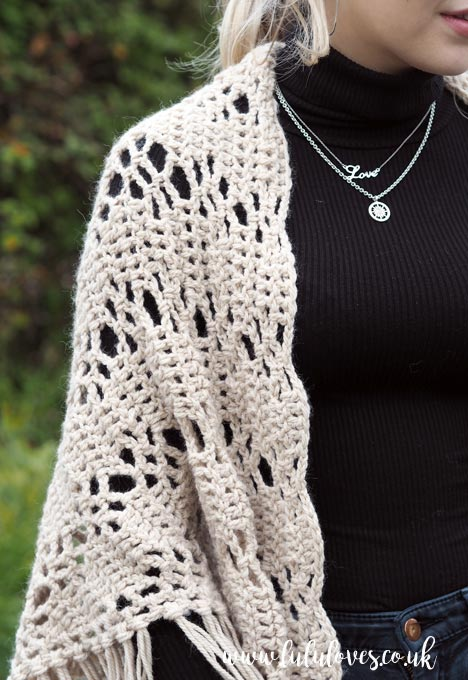 Lululoves: Courtship Shawl Crochet Pattern