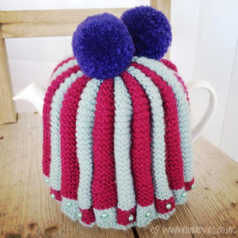 Vintage Knitted Tea Cosy