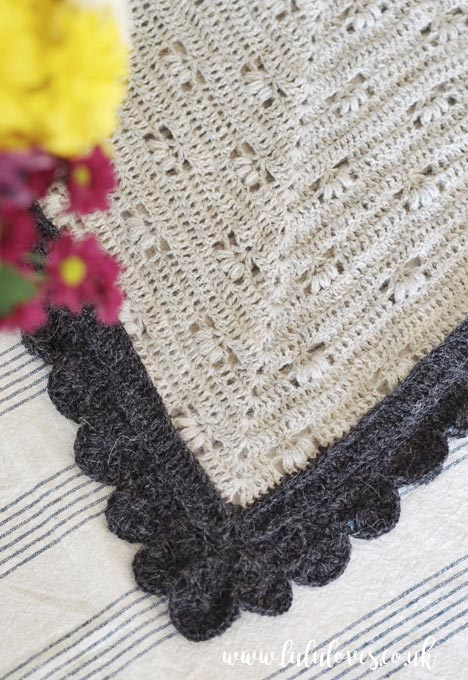 Crochet Victoria Shawl | Lululoves Crochet Blog